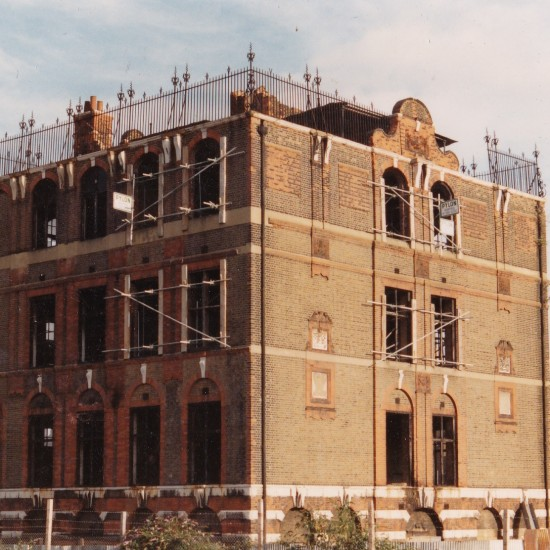 Durward Street School, prior to works